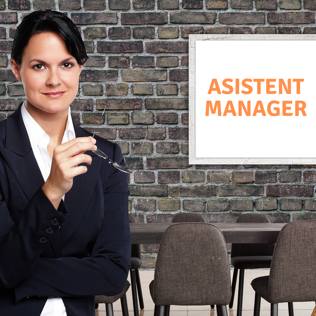 Asistent manager!